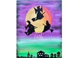 Hocus Pocus Inspired Paint Class -WR