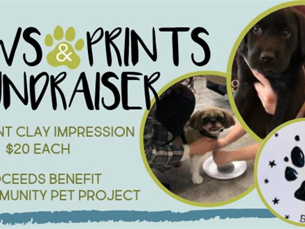 Paws & Prints Fundraiser for Community Pet Project