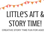 Little's Art & Story Time @ The Pottery Patch