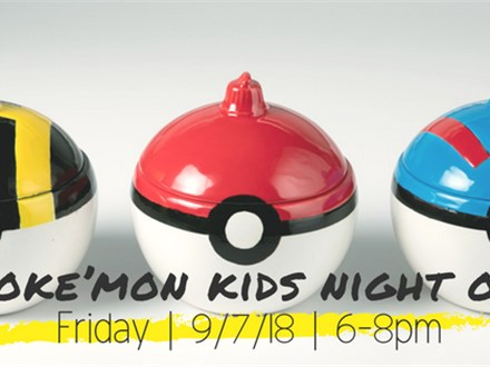 September Kid's Night Out: Poke'mon Night (Triangle)