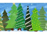 Christmas Trees Paint Class - Perry