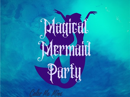Mermaid Painting Party - July 28
