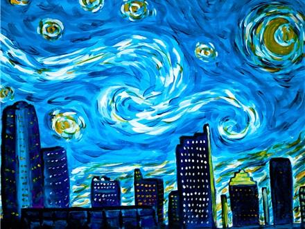 Starry Austin Night by Michelle Fox Copyright 2012-2014