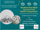 Paw Print Fundraiser at SOS reTAIL - November 30