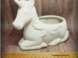 NEW! Unicorn Planter - Ready to Paint