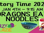 StoryTime & Paint Dragons