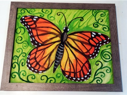 Kid's Canvas Class - Butterfly