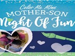 Mother and Son Night of Fun! March 3, 2018 @ 5pm