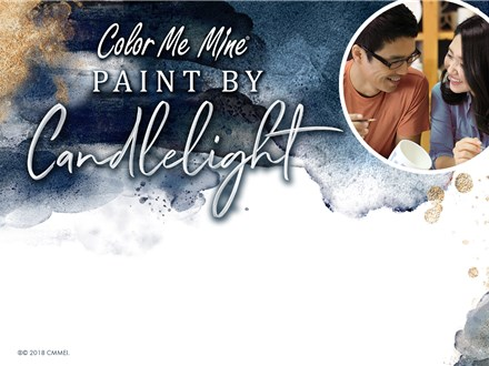 VALENTINES NIGHT-PAINT BY CANDLELIGHT