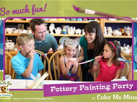 Party at Color Me Mine - Vernon Hills