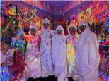 Glow in the Dark Splatter Zone Party!