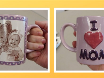 Mother's Day Photo Pottery Workshop
