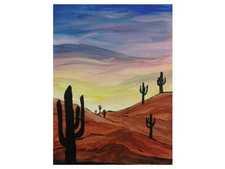 Desert Sunset - Paint & Sip - Aug 25