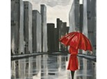"Canvas Night, ""The Red Umbrella"", Friday, May 13th 7-9"