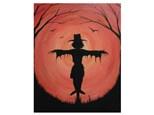 Harvest Moon Scarecrow - Paint & Sip - Oct 6