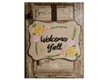 Welcome Sign Door Hanger