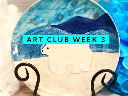 Art Club Week 3 January