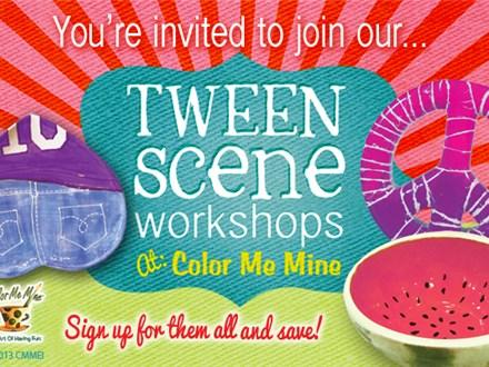 Tween Scene - Peace, Love & Paint! - Apr. 6