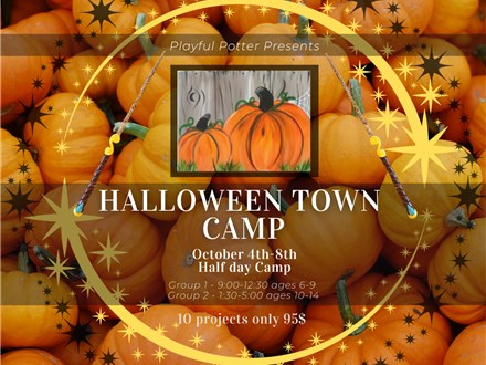 Halloween Town Camp (ages 6-9)