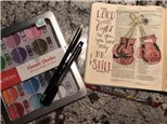 Little Studio Bible Journaling - December