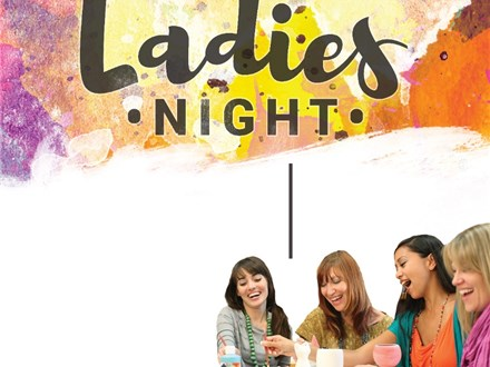 Ladies Night Group 4-5 at Color Me Mine - Tribeca, NY