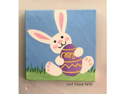 Kids Event: Bunny & Egg Canvas