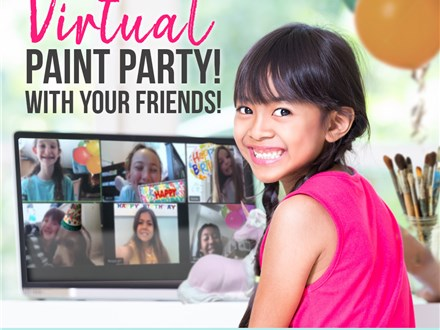 Virtual Birthday Party (Acrylic To-Go Package) Inquiry