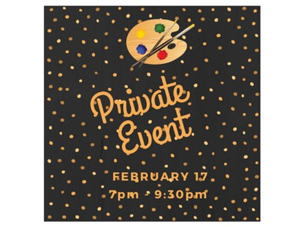 Katie and Friends - Private Paint & Sip - Feb 17