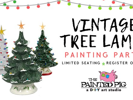 Vintage Tree Lamp Painting Party (11/7)