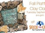 Fall Clay Platter Class