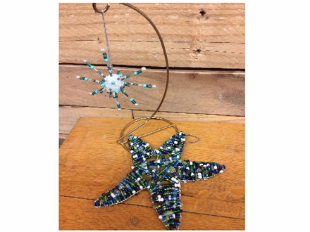 Youth Class - Beaded Snowflakes - Dec. 6th