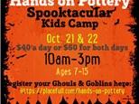 Spooktacular Kids Camp - Oct. 21&22, 2021