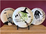 Mommy & Me - Halloween Plates - October 6 SOLD OUT - Scroll Down Class Added 10/20