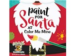 Paint with Santa on December 15, 2018
