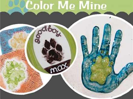 National Pet Day! Clay Paw Prints - Apr 10th, 2019
